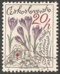 Sellos de Europa - Checoslovaquia -  Flores De Montaña