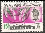 Sellos del Mundo : Asia : Malasia : Rhynchostylis retusa