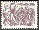 Sellos del Mundo : America : Nicaragua : Reforma agraria