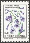 Sellos de America - Argentina -  JACARANDA TARCO