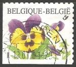 Sellos de Europa - Bélgica -  Pensamiento, violetas