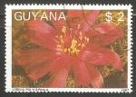 Sellos del Mundo : America : Guayana_Francesa : lobivia polycephala