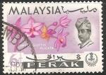 Sellos del Mundo : Asia : Malasia : Flores