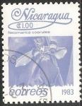 Sellos del Mundo : America : Nicaragua : neomarica caerulea