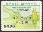 Sellos del Mundo : America : Perú : Reforma agraria