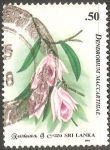 Sellos del Mundo : Asia : Sri_Lanka : dendrobium maccarthiae