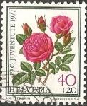 Sellos del Mundo : Europa : Suiza : Rose a Parfum de l'Hay