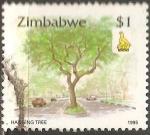 Sellos del Mundo : Africa : Zimbabwe : Hanging Tree