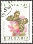 Sellos del Mundo : Europa : Bulgaria : zerynthia polyxena