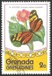 Sellos del Mundo : America : Granada : Dismorphia amphione