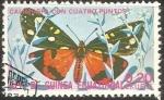 Sellos de Africa - Guinea Ecuatorial -  Callimorpha quadripunctaria