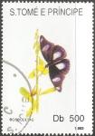 Sellos del Mundo : Africa : Santo_Tomé_y_Principe : borboletas