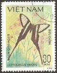 Sellos del Mundo : Asia : Vietnam : leptocircus meges