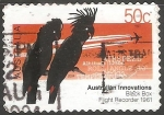Sellos del Mundo : Oceania : Australia : fligh recorder 1961
