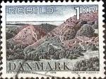 Sellos del Mundo : Europa : Dinamarca : Intercambio 0,20 usd 1 krone 1972