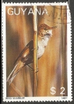 Sellos del Mundo : America : Guayana_Francesa : Reed warbler