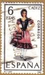 Sellos del Mundo : Europa : España : CADIZ - Trajes tipicos españoles