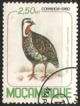 Sellos del Mundo : Africa : Mozambique : Red-necked Spurfowl