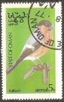 Sellos del Mundo : Asia : Omán : Bullfinch-Camachuelo