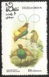 Sellos del Mundo : Asia : Omán : Magnificent bird of paradise-magnífica ave del paraíso