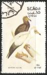 Sellos del Mundo : Asia : Omán : Egyptian vultureAbutre-do-egito-