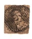 Sellos del Mundo : Europa : Bélgica : Leopoldo I - Ving cent - 1851