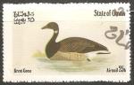 Sellos de Asia - Omán -  Brent goose-Brant ganso