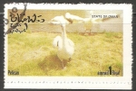 Sellos del Mundo : Asia : Omán : Pelican-pelícanos