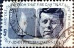 Sellos de America - Estados Unidos -  Intercambio 0,20 usd 5 cent. 1964