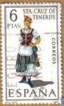 Sellos del Mundo : Europa : España : STA. CRUZ DE TENERIFE - Trajes tipicos españoles