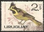 Sellos del Mundo : America : Uruguay : Cardenal amarillo