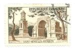 Sellos de Europa - Francia -  Ruinas