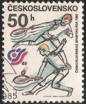Sellos del Mundo : Europa : Checoslovaquia : Ceskoslovenska spartakiada 1985
