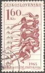 Sellos del Mundo : Europa : Checoslovaquia : III. celostátní spartakiáda (1965)