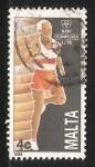 Sellos del Mundo : Europa : Malta : Juegos Olímpicos de Seúl 1988