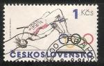 Sellos del Mundo : Europa : Checoslovaquia : Juegos Olimpicos 1984