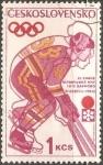 Sellos del Mundo : Europa : Checoslovaquia : Juegos Olímpicos de Invierno 1972
