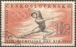 Sellos del Mundo : Europa : Checoslovaquia : Juegos Olímpicos de Verano 1960