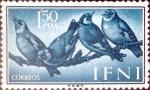 Sellos de Europa - España -  Intercambio jxi 0,35 usd 1,5 ptas. 1960