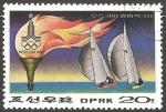 Sellos del Mundo : Asia : Corea_del_norte : Summer Olympic Games, Moscow 1980- sail