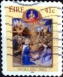 Sellos del Mundo : Europa : Irlanda : Intercambio 2,00 usd 41 cent. 2002