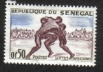 Sellos del Mundo : Africa : Senegal : Deportes