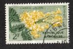 Sellos del Mundo : Africa : Gabón : Golden Shower Tree (Cassia fistula
