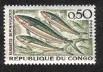 Sellos del Mundo : Africa : República_del_Congo : Corredor del arco iris ( Elagatis bipinnulatus ), Brazzaville