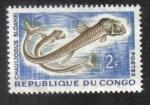 Sellos del Mundo : Africa : República_del_Congo : Chauliodus sloaneis (Brazzaville)
