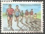 Sellos del Mundo : Asia : Indonesia : Carreras