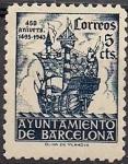 Sellos del Mundo : Europa : España : barco