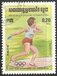 Sellos del Mundo : Asia : Camboya : Juegos Olímpicos de Los Ángeles 1984