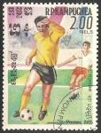 Sellos de Asia - Camboya -  World Cup Football