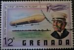 Sellos de America - Granada -  Early Zeppelin and Count Zeppelin